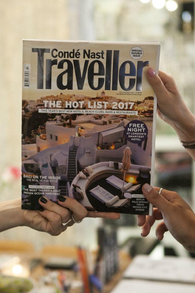 """Το ANAMESA concept store είναι """"προορισμός"""" για το Conde Nast Traveller"""