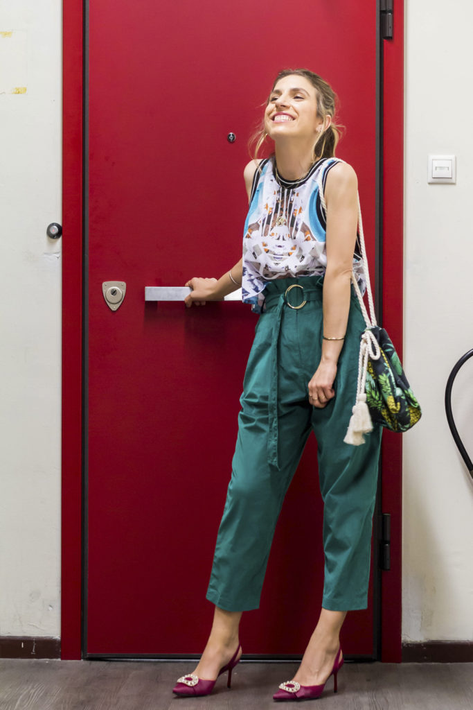 High-Waisted Pants Are Back