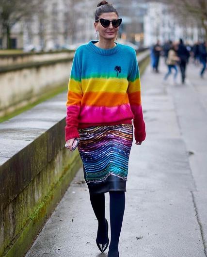 Η πολύχρωμη τάση στα πουλόβερ