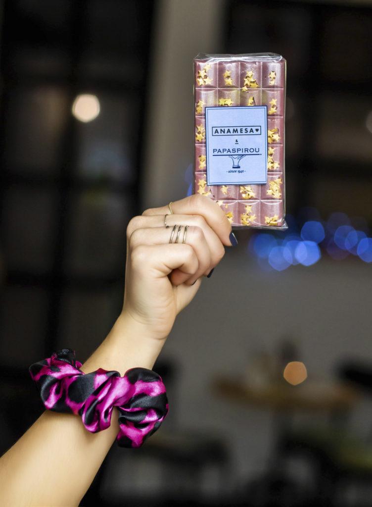 Anamesa σε olschooltwist scrunchies, χρώμα και σοκολάτες!