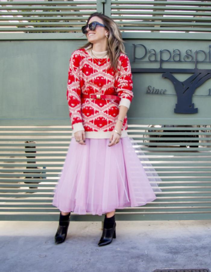 Πως να φορέσεις κόκκινο με ροζ!