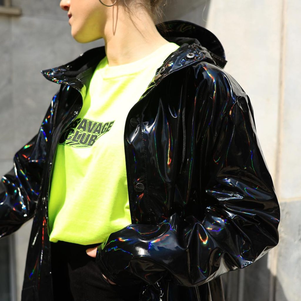 Neon T-shirts + Holograpic Jackets