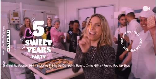 #ANAMESA5yearsXmas Birthday Fashion Party official