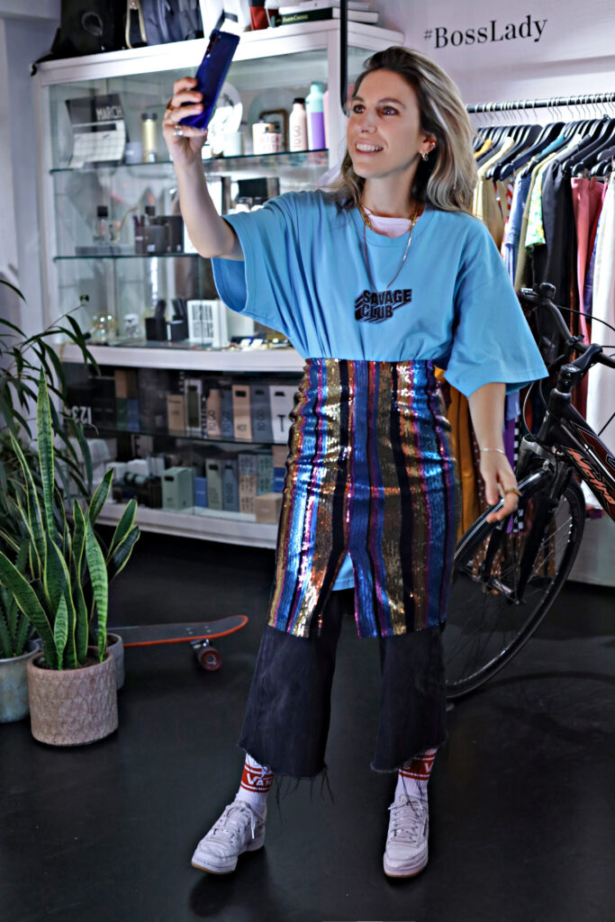 Πως να φορέσω το XL boyfriend T-shirt _The Glam Cool Edition