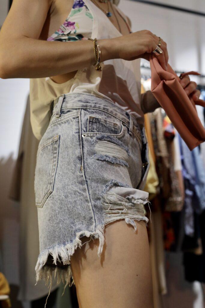 Wear summer shorts