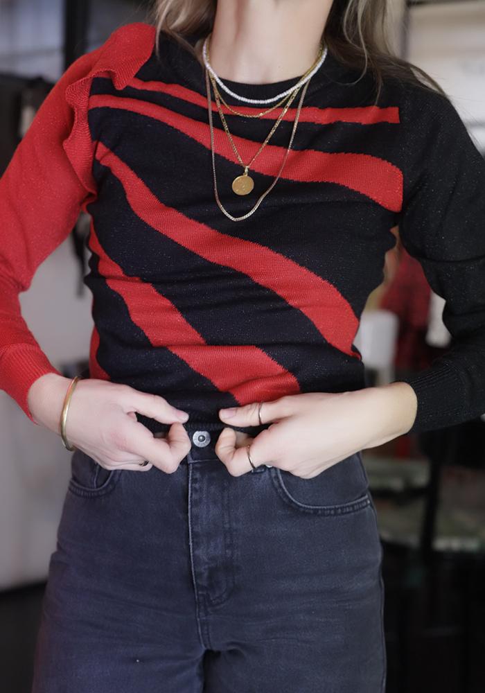 Πολύχρωμα πουλόβερ: Η τάση που θα φοράς όλη την άνοιξη
