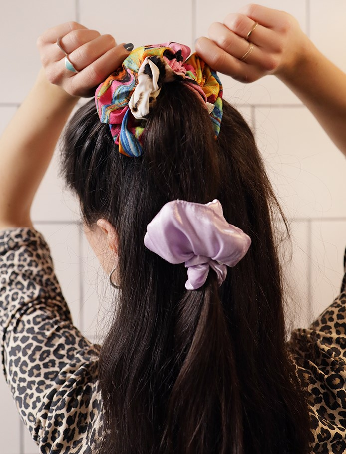 Couple (style) goals: Match your scrunchies