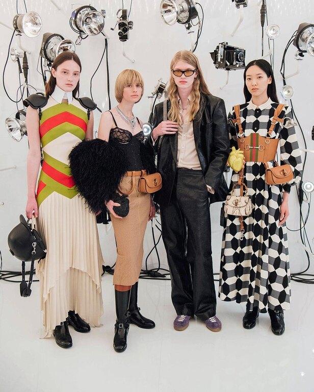 Gucci: Κλείνει 100 χρόνια ιστορίας και το γιορτάζει με νέα συλλογή και collab με τον Balenciaga!